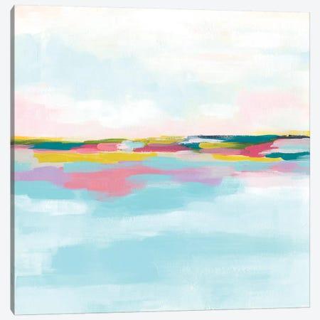 Rainbow Horizon I Canvas Print #JEV1906} by June Erica Vess Canvas Art Print