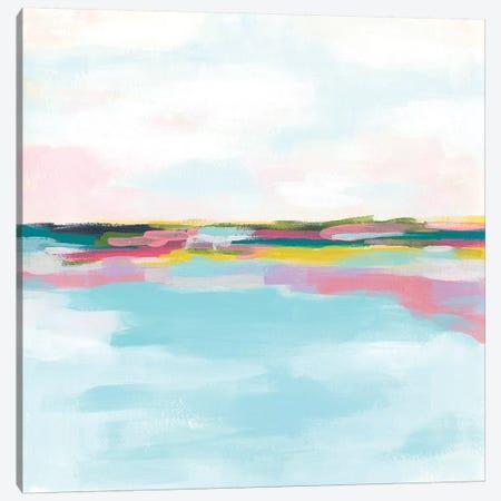 Rainbow Horizon II Canvas Print #JEV1907} by June Erica Vess Canvas Print