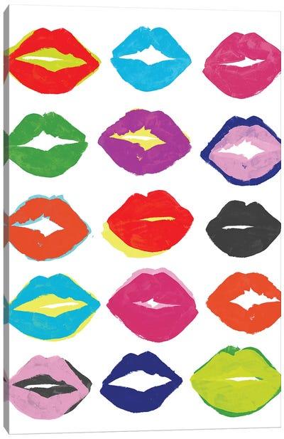 Kiss Kiss I Canvas Art Print