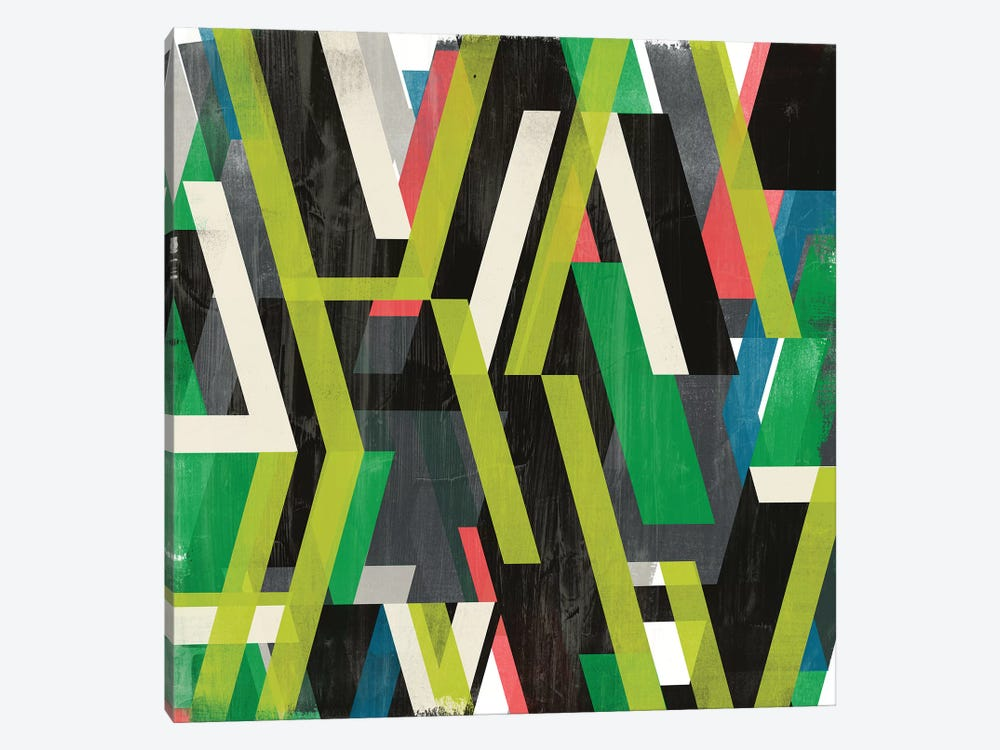 Diagonal Slipstream I by June Erica Vess 1-piece Art Print