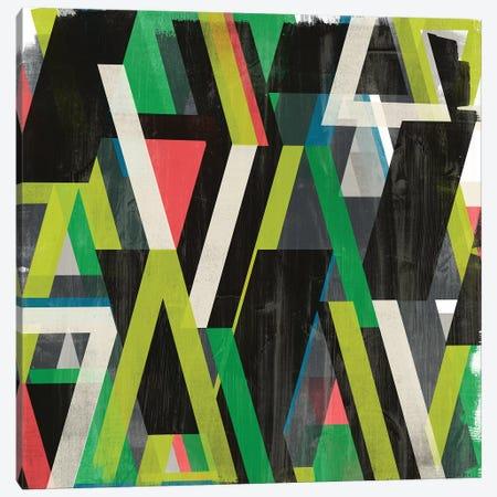 Diagonal Slipstream II 3-Piece Canvas #JEV1921} by June Erica Vess Canvas Wall Art