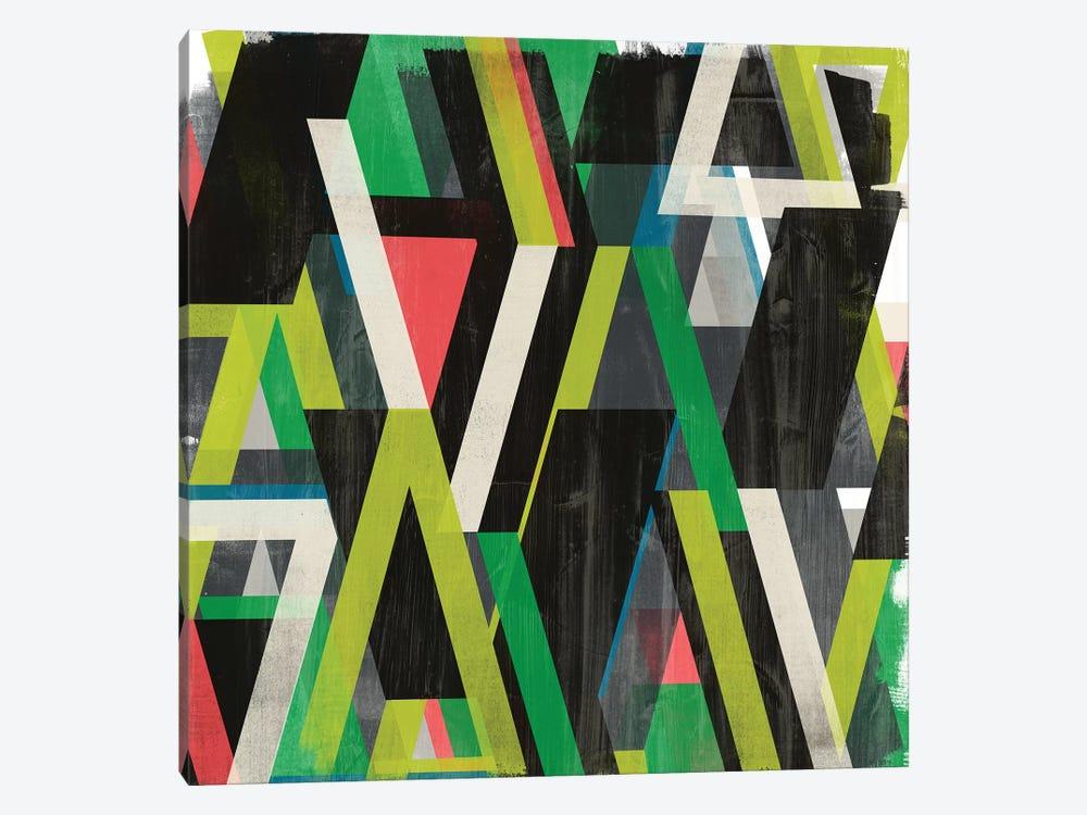 Diagonal Slipstream II by June Erica Vess 1-piece Canvas Wall Art