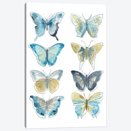 Butterfly Blues II Canvas Print #JEV1938} by June Erica Vess Canvas Art Print