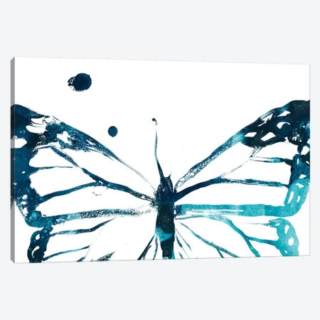 Butterfly Imprint III Canvas Print #JEV1941} by June Erica Vess Canvas Wall Art