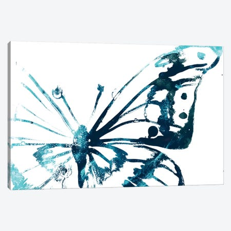 Butterfly Imprint V Canvas Print #JEV1943} by June Erica Vess Canvas Wall Art