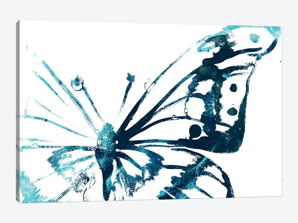 Butterfly Imprint V by June Erica Vess 1-piece Canvas Wall Art