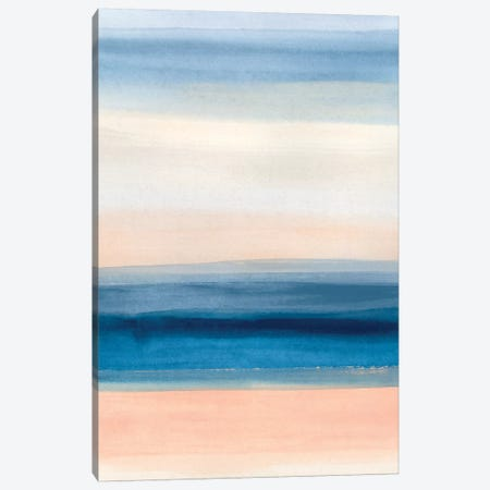Coastal Strata I 3-Piece Canvas #JEV1953} by June Erica Vess Art Print