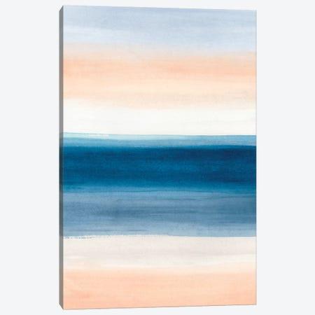 Coastal Strata II 3-Piece Canvas #JEV1954} by June Erica Vess Canvas Artwork