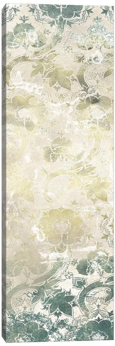 Emerald Textile II Canvas Art Print
