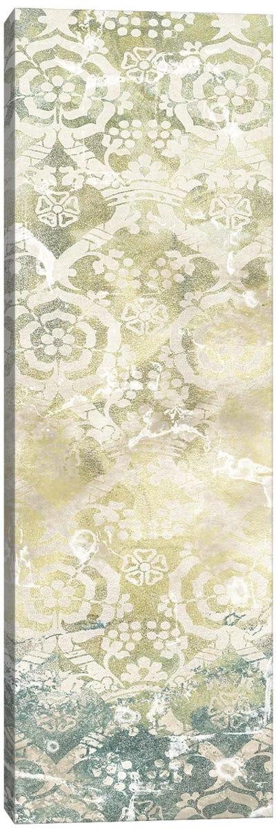 Emerald Textile III Canvas Art Print
