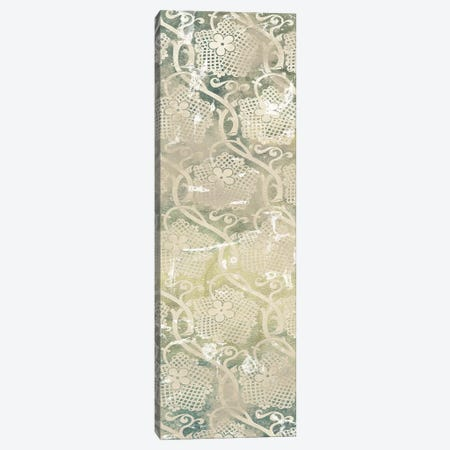 Emerald Textile IV 3-Piece Canvas #JEV1968} by June Erica Vess Canvas Art