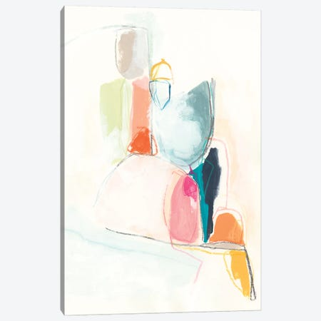 Factotum I Canvas Print #JEV1969} by June Erica Vess Canvas Artwork