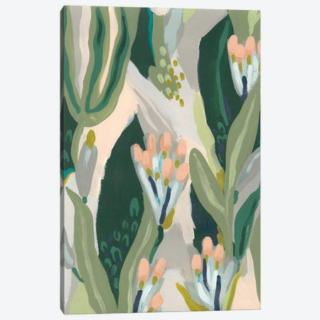 Floral Impulse I Canvas Print #JEV1977} by June Erica Vess Canvas Artwork
