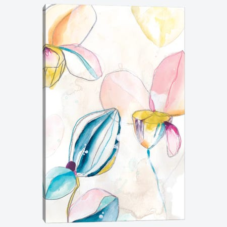 Garden Splash I Canvas Print #JEV1983} by June Erica Vess Canvas Artwork