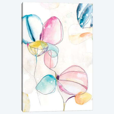 Garden Splash II 3-Piece Canvas #JEV1984} by June Erica Vess Art Print