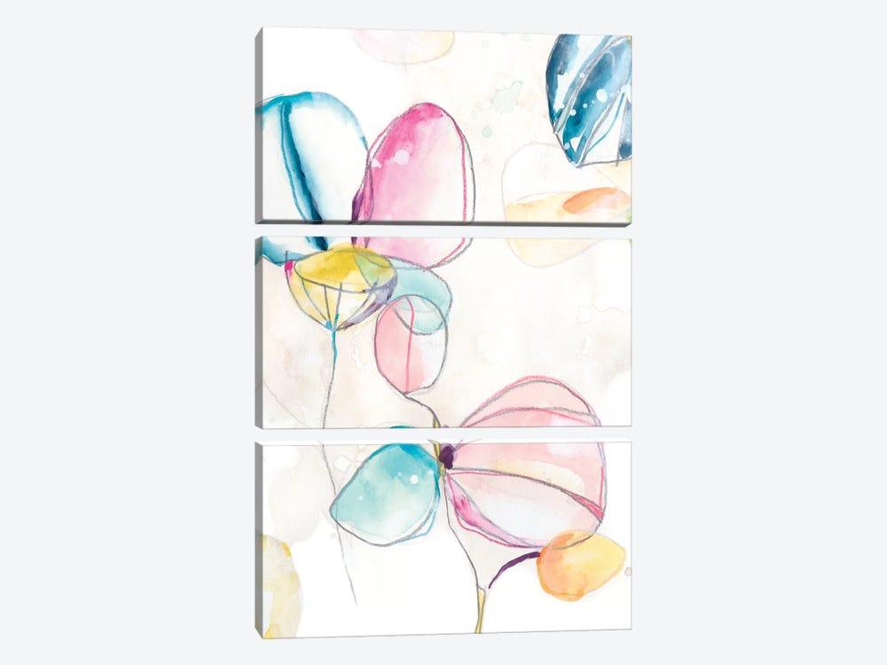 Garden Splash II by June Erica Vess 3-piece Art Print