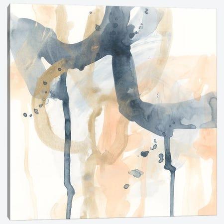Liquid Blueprint II Canvas Print #JEV2010} by June Erica Vess Canvas Artwork