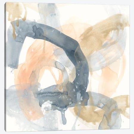 Liquid Blueprint III Canvas Print #JEV2011} by June Erica Vess Canvas Wall Art