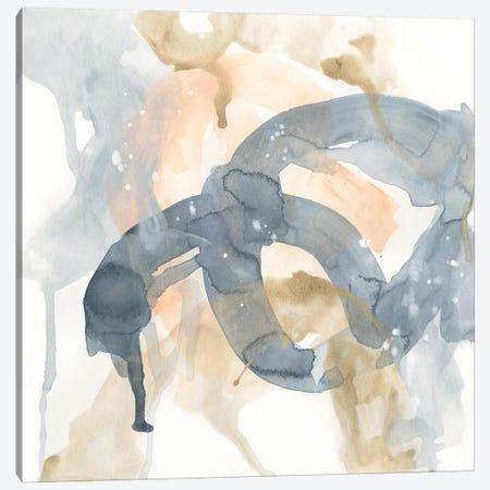 Liquid Blueprint VII Canvas Print #JEV2016} by June Erica Vess Canvas Print