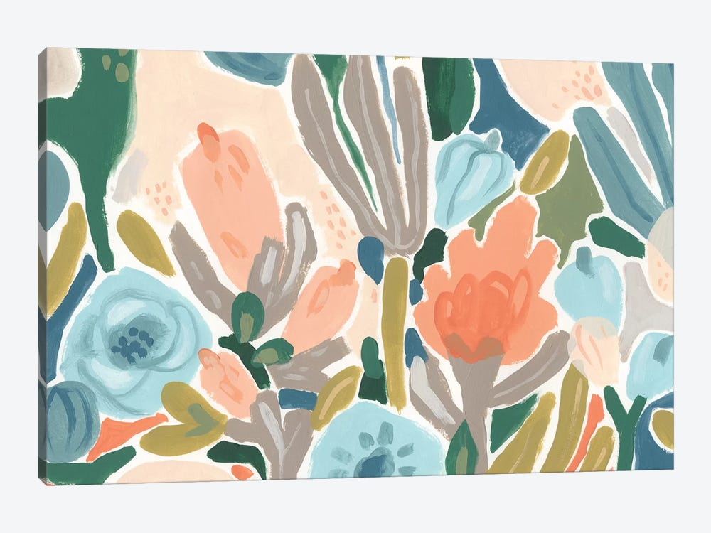 Meadow Gala I by June Erica Vess 1-piece Canvas Wall Art