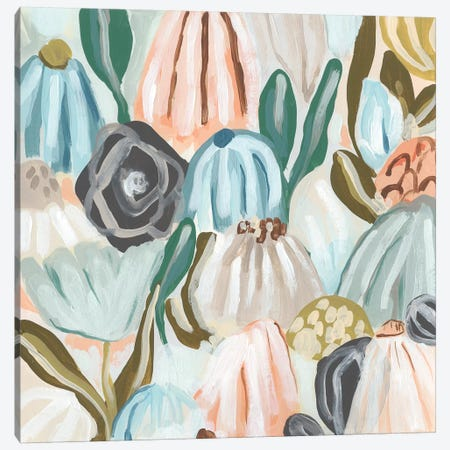 Parasol Garden I Canvas Print #JEV2052} by June Erica Vess Canvas Art