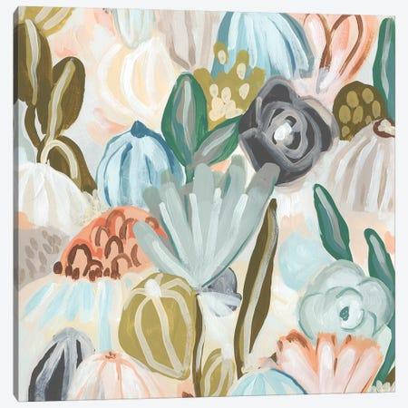 Parasol Garden II Canvas Print #JEV2053} by June Erica Vess Canvas Art