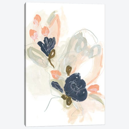 Posy Projection I Canvas Print #JEV2058} by June Erica Vess Canvas Wall Art