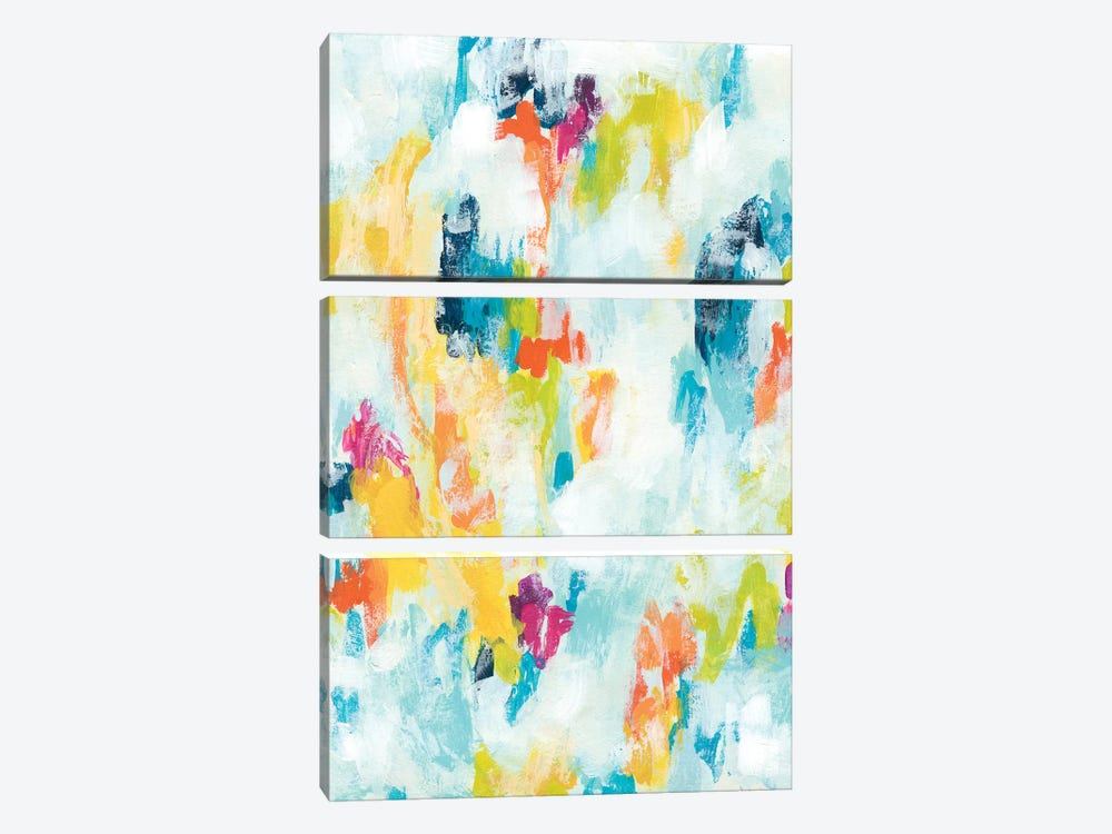 Reclaimed Refraction I by June Erica Vess 3-piece Canvas Print