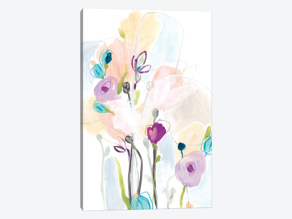 Scattershot Garden II by June Erica Vess 1-piece Canvas Wall Art