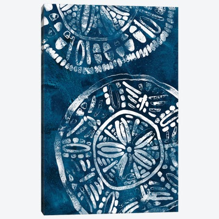 Sea Batik I Canvas Print #JEV2082} by June Erica Vess Canvas Art Print