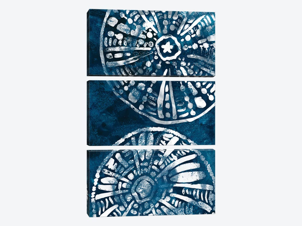 Sea Batik II by June Erica Vess 3-piece Canvas Art