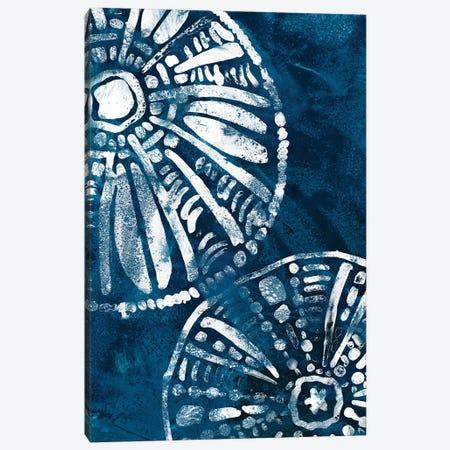 Sea Batik III Canvas Print #JEV2084} by June Erica Vess Canvas Artwork