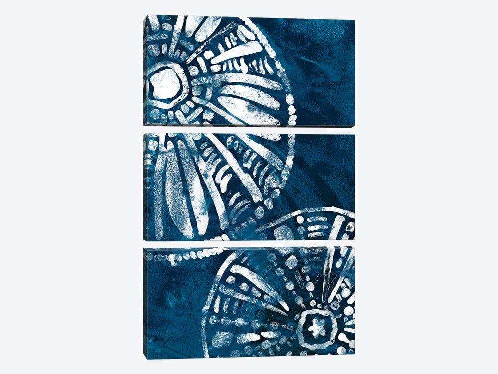 Sea Batik III by June Erica Vess 3-piece Art Print