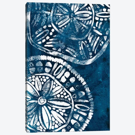 Sea Batik IV Canvas Print #JEV2085} by June Erica Vess Canvas Art
