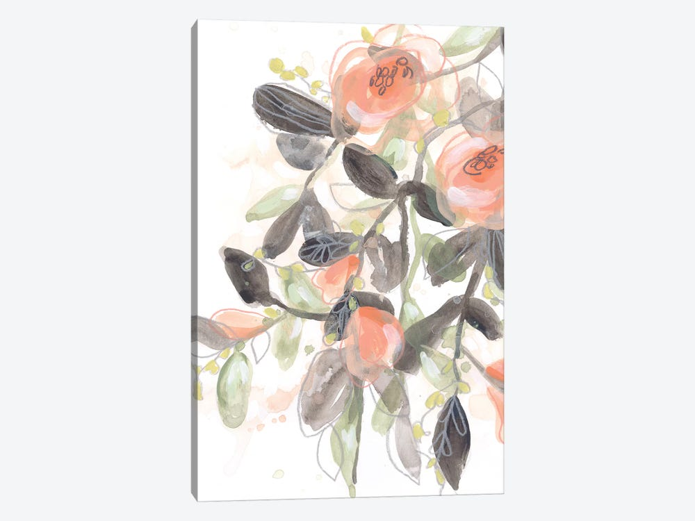 Sheer Blossoms I by June Erica Vess 1-piece Canvas Art Print