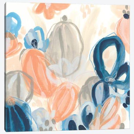Terra Cotta Blooms II Canvas Print #JEV2103} by June Erica Vess Canvas Artwork