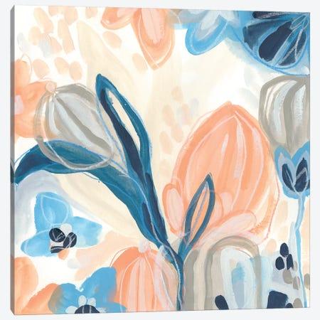 Terra Cotta Blooms III Canvas Print #JEV2104} by June Erica Vess Art Print