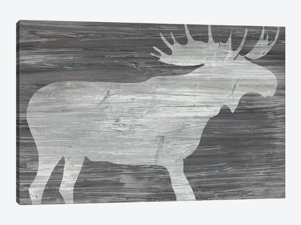 Vintage Plains Animals IV by June Erica Vess 1-piece Canvas Artwork