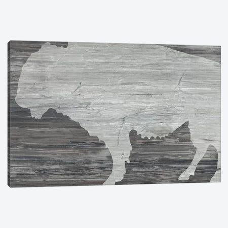 Vintage Plains Animals V Canvas Print #JEV2127} by June Erica Vess Art Print