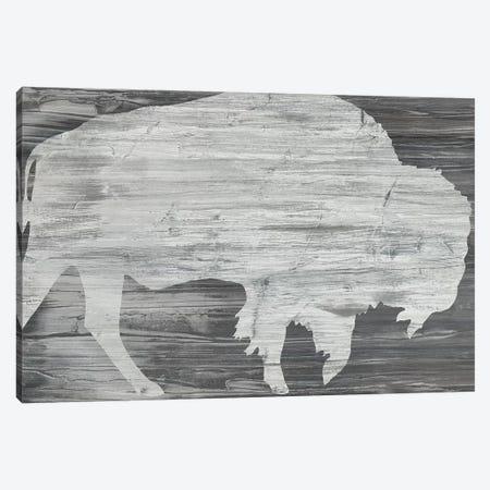 Vintage Plains Animals VI Canvas Print #JEV2128} by June Erica Vess Canvas Artwork