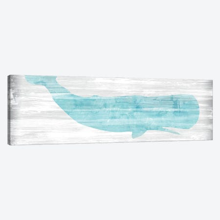 Weathered Whale I Canvas Print #JEV2133} by June Erica Vess Canvas Print