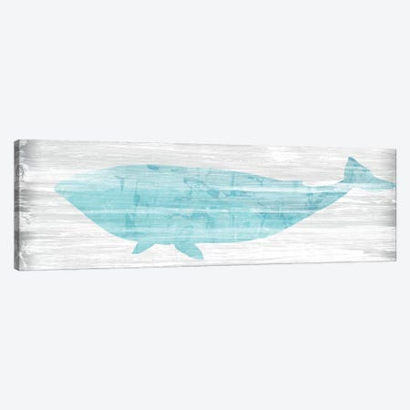 Weathered Whale II Canvas Print #JEV2134} by June Erica Vess Canvas Art