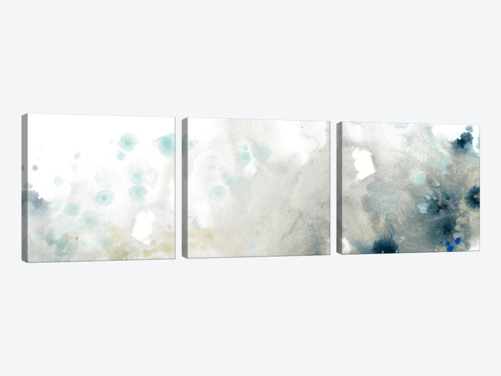 Sea Storm I by June Erica Vess 3-piece Canvas Print