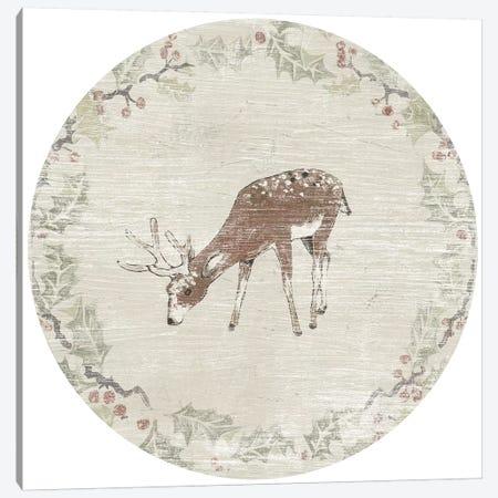 Cabin Christmas VII Canvas Print #JEV2158} by June Erica Vess Canvas Art Print