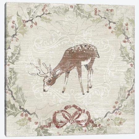 Cabin Christmas VI Canvas Print #JEV2165} by June Erica Vess Art Print