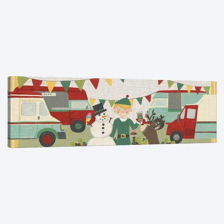 Food Truck Holidays Collection D Canvas Print #JEV2175} by June Erica Vess Canvas Wall Art