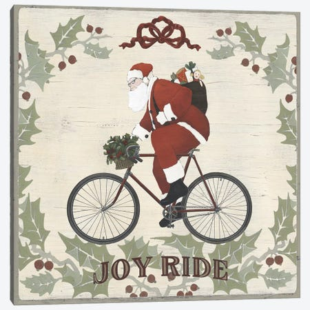 Joyride Santa Collection A Canvas Print #JEV2188} by June Erica Vess Canvas Wall Art