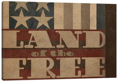 Patriotic Collection A Canvas Art Print