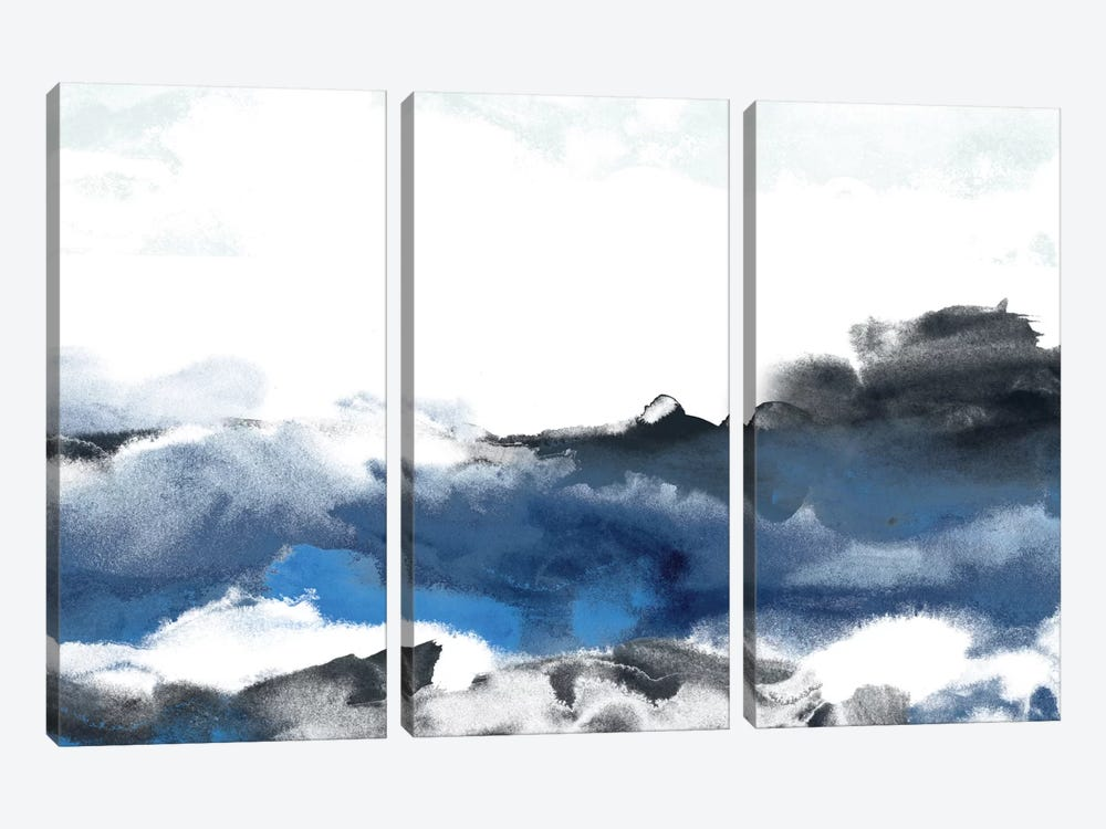 Sea Surface II by June Erica Vess 3-piece Canvas Print