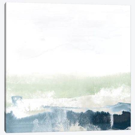 Seafoam Horizon I Canvas Print #JEV221} by June Erica Vess Canvas Art